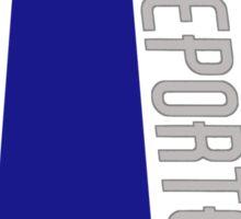 Go Team Bro Team - Reporter Sticker