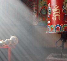 Prayer wheel by Istvan Hernadi