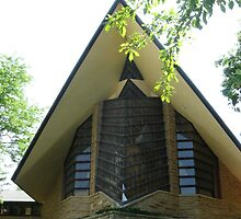 Unitarian Meeting House -- Madison, Wisconsin by AJ Belongia