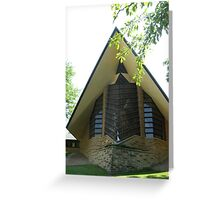 Unitarian Meeting House -- Madison, Wisconsin Greeting Card