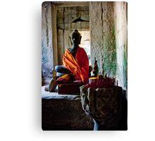 Mysterious Buddha Canvas Print