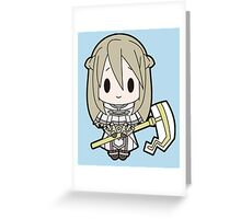 Libra Chibi Greeting Card