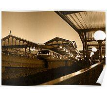 Magic Kingdom's Monorail Poster