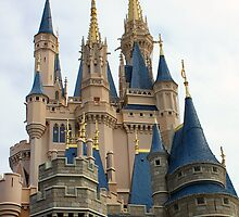 Cinderella's Castle's Steeples by Philip  Brown