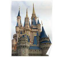 Cinderella's Castle's Steeples Poster