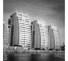 Tower Blocks - Salford Photographic Print