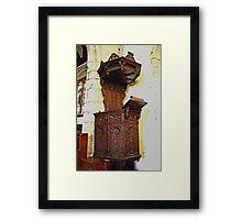 The Lenham Pulpit Framed Print