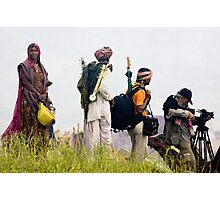 India: A Day in the Life of The Pushkar Camel Fair 3 Photographic Print