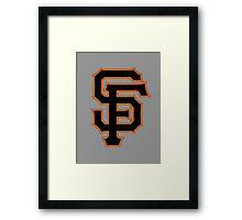 SF for SF Framed Print