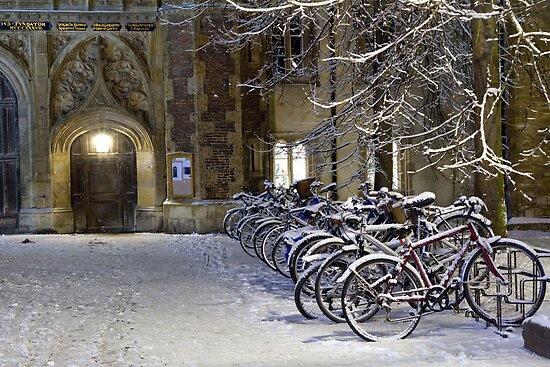 Bikes at Trinity by BeardyGit