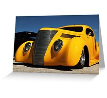 Custom Ford Pickup Greeting Card