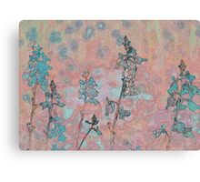 Topaz Coral Meadow Canvas Print