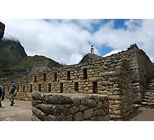 machu picchu. on the inside Photographic Print