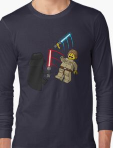 Space Brick Battles Long Sleeve T-Shirt