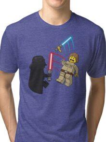Space Brick Battles Tri-blend T-Shirt