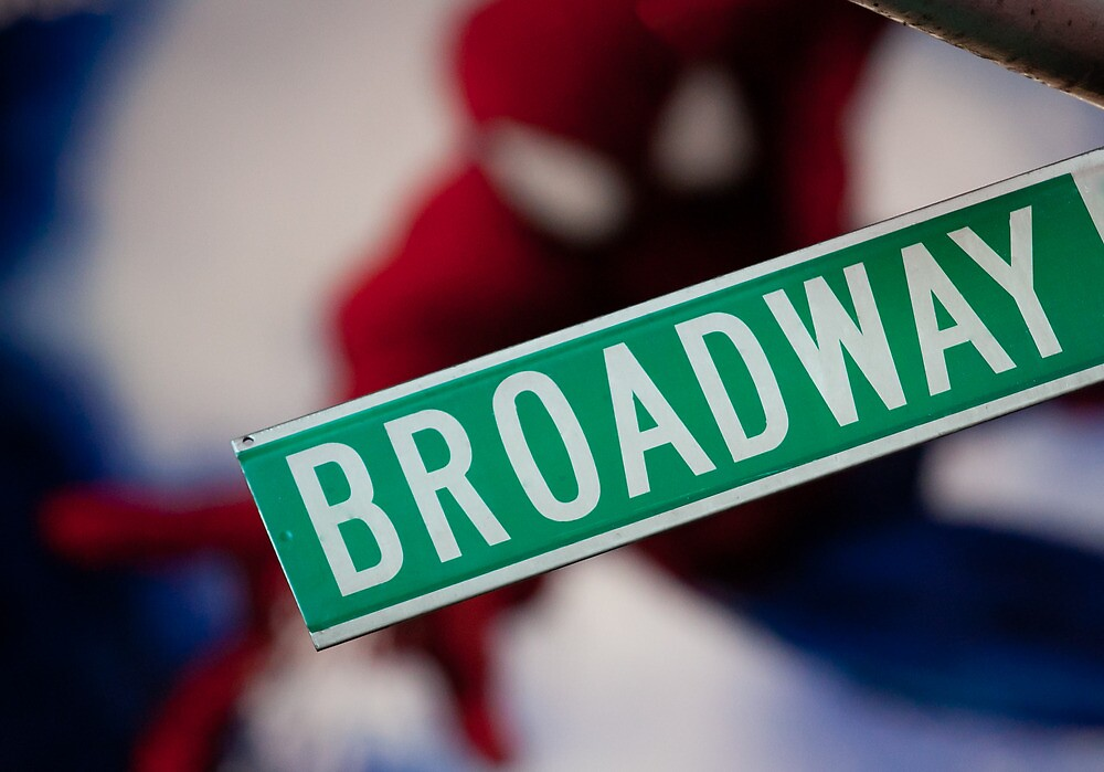 Spiderman musical on Broadway by michielmos
