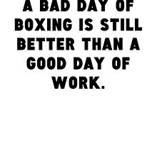 A Bad Day Of Boxing by GiftIdea