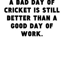 A Bad Day Of Cricket by GiftIdea