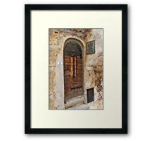 Chateau & Relaix Framed Print