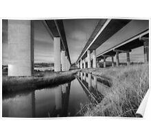 Medway Bridge Kent UK Poster