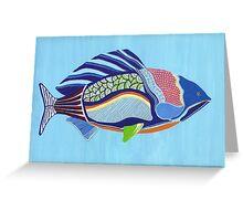 Rainbow Fish Greeting Card