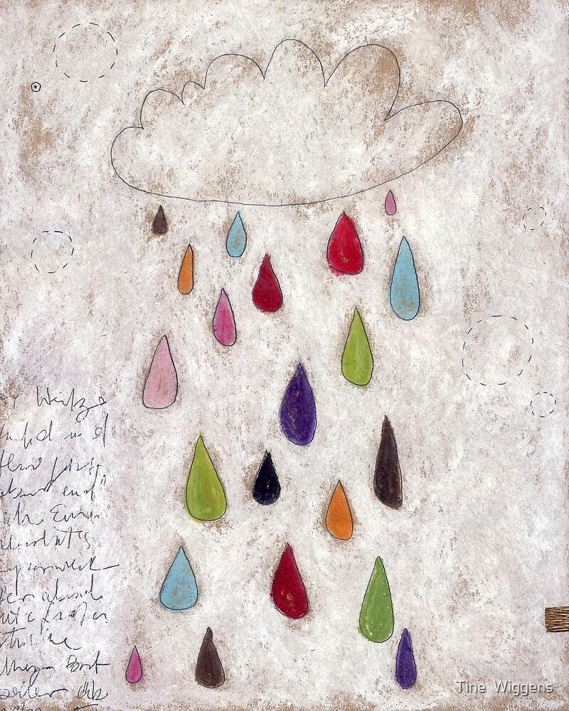 The rain cloud by Tine  Wiggens