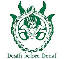 Death Before Decaf Siren Photographic Print
