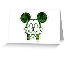 MickeyFuck Greeting Card