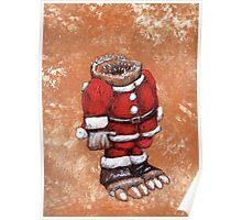 Sock Gobbler Christmas Poster