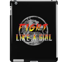 Fight like a girl...Mortal Kombat iPad Case/Skin