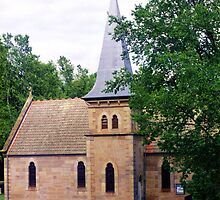 Historic Church, Ross by Michael John
