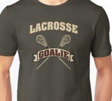Lacrosse Goalie Dark Unisex T-Shirt