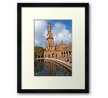Plain of the River Guadalquivir. Framed Print