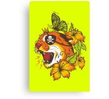 Predatory Puma Canvas Print