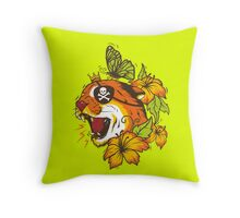Predatory Puma Throw Pillow