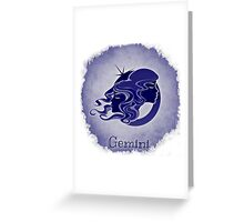 Zodiac: Gemini Greeting Card