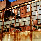 Rusty Building in Cincinnati by Phil Campus
