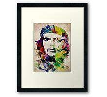 Che Guevara Urban Art Framed Print