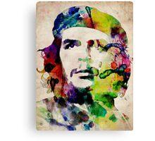 Che Guevara Urban Art Canvas Print