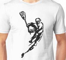 Lacrosse Player Unisex T-Shirt