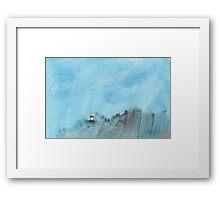 Big skies Framed Print