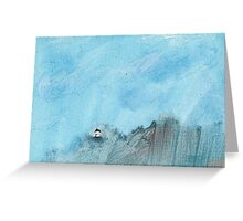 Big skies Greeting Card