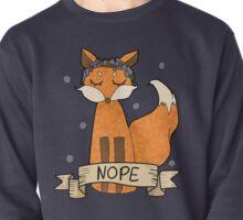 Sassy Fox- Nope Pullover