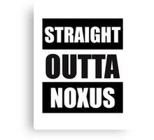 Straight Outta Noxus Canvas Print
