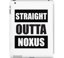 Straight Outta Noxus iPad Case/Skin