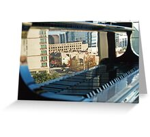 Keyboard Mural Greeting Card