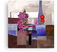 """Celebration"" - First prize for flower arranging. Canvas Print"