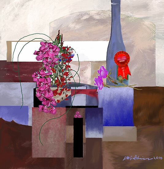 """""""Celebration"""" - First prize for flower arranging. by Patrice Baldwin"""