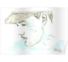Liam Payne Watercolor Poster
