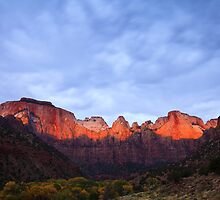 Towers of the Virgin in Zion by Nickolay Stanev